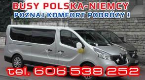 Bezpieczne oraz komfortowe busy z Niemiec do Polski !